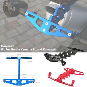 Motorcycle Bike CNC Rear License Plate Turn Signal Lamp Bracket FenderEliminator