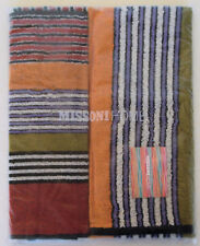 MISSONI HOME SET ASCIUGAMANI NOAH 156  HAND + BATH TOWEL SET SUPER ASSORBENTE