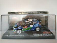 1/43 FORD FIESTA RS WRC SOLBERG 2012 RALLY RALLYE IXO CAR ESCALA DIECAST