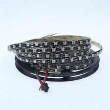 5V WS2812B 5050 RGB 5m 300 LED Strip Epoxy IP65 BlacK Arduino Adafruit Raspberry