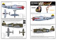 kits-world 1/72 p-47d Bomba #72070