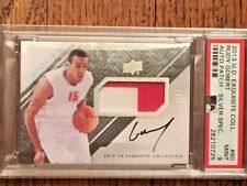 2013-14 Exquisite Rudy Gobert /25 Rookie Patch Auto PSA 9 Mint RPA Card DPOY!