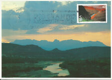 Big Bend National Park Canyon Air Mail USA Maximum Card