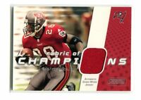 2002 Fabric of Champions FC-WD Warrick Dunn Buccaneers Jersey jh18
