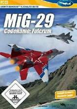 MIG 29 Codename Fulcrum ADDON für Microsoft Flight Simulator X 2004 Neuwertig