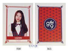 Gugudan gu9udan Han Haebin Hae Bin Large Photo Card Kpop