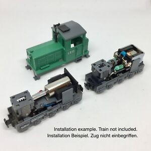 Roco H0e Diesel train 12V Coreless motor conversion kit for fx 33209, 31025,3102
