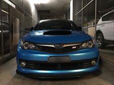 Chargespeed CS Front Bumper Lip Urethane 2008 2009 2010 WRX STI PU