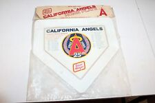 CALIFORNIA ANGELS 25th ANNIVERSARY COMMEMORATIVE HOME PLATE in ORIGINAL PACKAGE