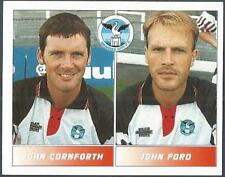 PANINI FOOTBALL LEAGUE 95 -#527-SWANSEA CITY-JOHN CORNFORTH / JOHN FORD