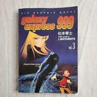 Galaxy Express 999 Vol 3 L. Matsumoto Rare OOP Manga graphic novel 1st Print B&W