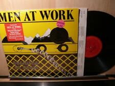 Men At Work: Business As Usual (MINT Unplayed HYPE stickers in SHRINK LP)