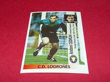 ANDONI CEDRUN C.D. LOGRONES PANINI LIGA 96-97 ESPANA 1996-1997 FOOTBALL