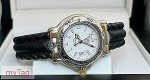 TAG Heuer  6000 Bi-Metal 18k  Ladies Quartz Watch WH1351 K1