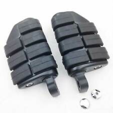 Black Large Foot Pegs Rest For Harley Softail CVO Slim Heritage Classic FLSTC