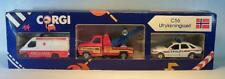 Corgi C 55 ultrikningssett ford ambulanse-wreckler-sierra politi i box #5356