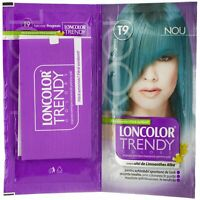 Loncolor Trendy Color SePermanent Hair Coloring Cream Dye Turquoise T9 Long Last