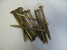 Bugle Head Batten Screws 100mm Zinc Yellow 100pcs