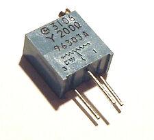 200 ohm Trimmer Trim Pot Variable Resistor 3106Y (10)