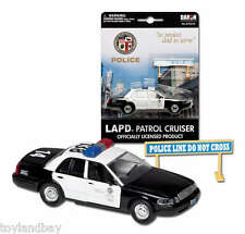 LAPD Los Angeles Police Department Ford Crown Victoria 1/43 Scale Diecast Mint
