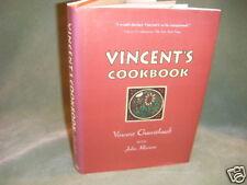 free dom. ship VINCENT'S COOKBOOK by VINCENT GUERITHAULT 1994 SIGNED!!