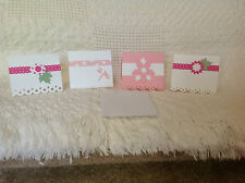 Handmade Mini Note Cards or Gift Enclosure Cards