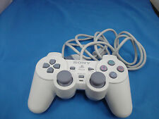 Official Sony PlayStation 1 PSOne Controller White Dualshock