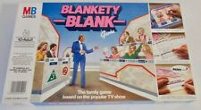 BLANKETY BLANK BOARD GAME (1983) MB GAMES ~ COMPLETE & EXCELLENT CONDITION