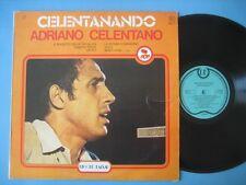 """ADRIANO CELENTANO """"Celentanando"""" LP RACCOLTA RECORD BAZAR"""