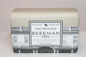 Beekman 1802 Honey & Oats Scrub Bar Goat Milk Soap 9 oz. NEW USA