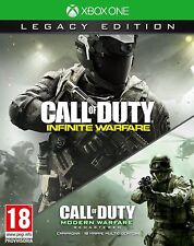 CALL OF DUTY: INFINITE WARFARE + MODERN WARFARE - LEGACY EDITION - XBOX ONE