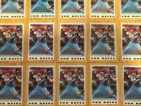 1987 TOPPS MINI Von Hayes 15 Card Lot MLB Philadelphia Phillies Indiana Angels