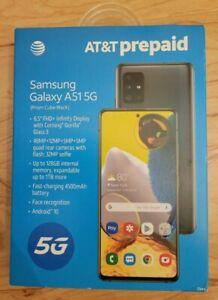 Samsung Galaxy A51 5G SM-A516U - 128GB - Prism Cube Black AT&T Prepaid