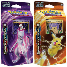 POKEMON TCG XY Evolutions Theme Deck - Two Deck, 120 cards in total