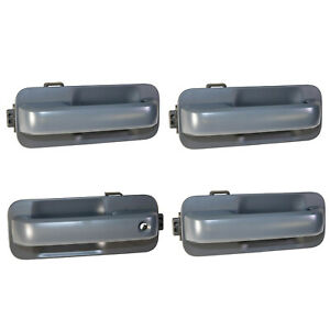 NEW OEM 15-20 Ford F150 Exterior Door Handles Paint To Match Unpainted SET of 4