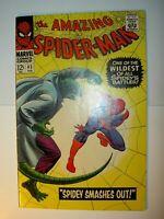 Amazing Spider-Man #45, 1967, Silver Age Lizard app., John Romita art BV=89