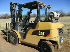 2013 Cat P9000 forklift, cab with heater but less doors, Nissan engine, fork pos