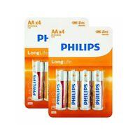 Piles LR 3 - Philips - Validité 11 / 2021 - Par 4 / 8 / 12 / 16 Piles