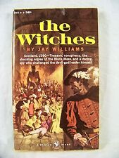 THE WITCHES JAY WILLIAMS BANTAM GIANT A1937 1959  FIRST EDITION HORROR