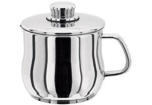 STELLAR 1000 Stainless Steel 14cm Saucepan/Pot with Lid. Gravy/Milk. 1.7L