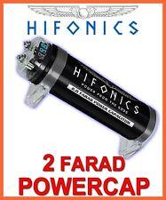 Hifonics HFC2000 2 Farad Powercap 2F Kondensator CAP   ELKO NEUWARE CarHifi Auto