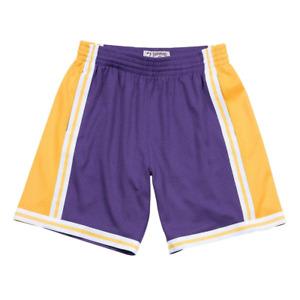 Mitchell & Ness Purple NBA Los Angeles Lakers 1984-85 Swingman Road Shorts
