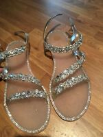 ladies river island sandals size 7