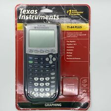 New Instruments TI-84 Plus Graphing Calculator - Black NEW