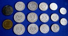 1964 - 1989 ALBANIA COIN 5, 10, 20, 50 QINDARKA 1,2 LEK Albanian socialis PERIOD
