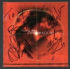 (AUTOGRAPHED CD) THIRD DAY : CONSPIRACY NO 5