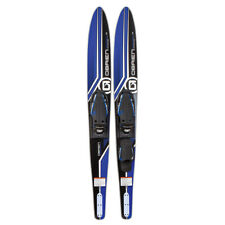 O'Brien Watersports 2191120 Adult 68 inches Celebrity Water skis, Blue and Black