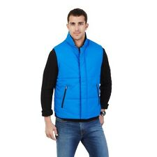Nautica Mens Blue Quilted Polyester Down Filled Puffer Vest $168