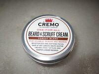 Cremo Beard & Scruff Cream Forest Blend 4oz Lot of 2 NEW