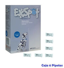 6 Pipetas leishmaniosis para perros, anti pulgas, garrapatas y piojo Exspot 1ML